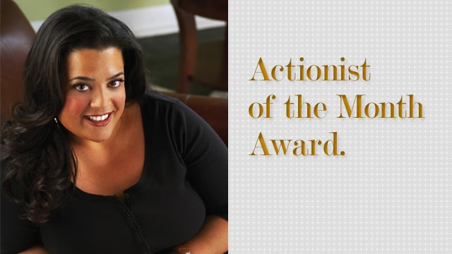 Actionist of the Month Award