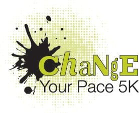 Change Your Pace 5k to Fight Eating Disorders Logo